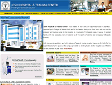 Tablet Preview of joshihospital.org